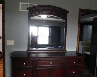 Nebraska furniture mart dresser with mirror