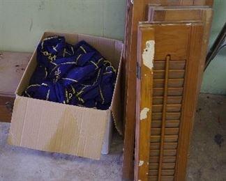 shutters, crown royal bags