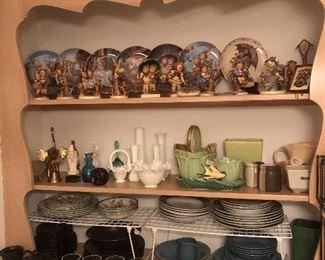 Collectibles (Hummels, Fenton, McCoy)