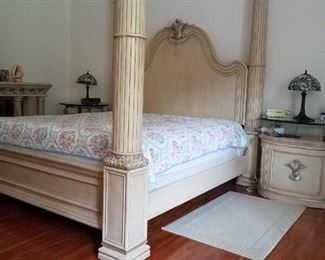 $2,500 - master bedroom set includes the mattress