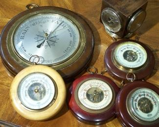 Barometers, hygrometers and thermometers