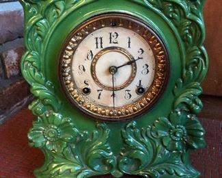 Antique Clock - works