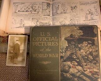 World War Book - copyright 1920