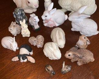 Stone Critters, Japan, Highbank Porcelain - Scotland, etc.....