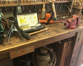 Lots of woodworking tools - JA Henckels , etc