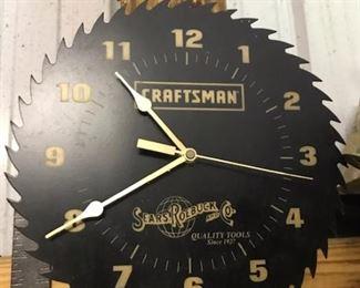 Craftsman saw clock