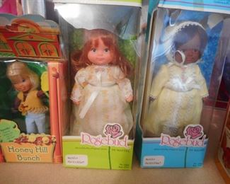 Rose Bud Dolls in Box, Honey Bunch Doll