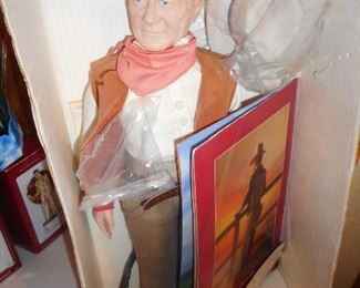 Effanbee John Wayne Doll /With Box