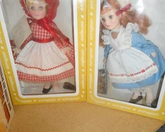 Little Red Riding Hood, Jill, Effanbee Dolls/Box