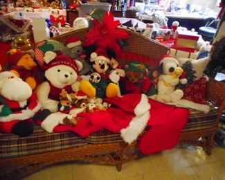 CHRISTMAS IN THE BASEMENT!!! Christmas Stuffed Animals