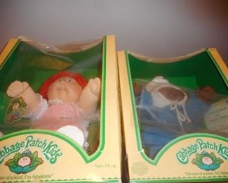 Coleco Cabbage Patch dolls in BoX