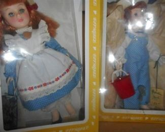 Jack and Jill. Effanbee Dolls Box