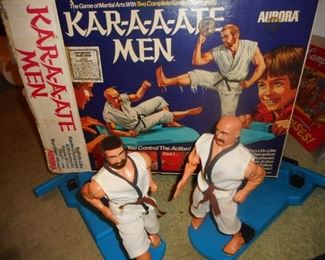 Aurora Karate MEN Game? in Original Box