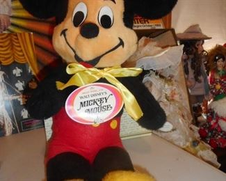 Walt Disney Mickey Mouse With Original Tag