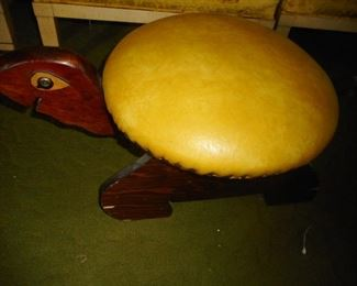 CUTE Turtle Foot Stool