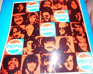 WLS ( back in the day..this was our generation of radio..) ROCK U BOOK COVERS..PEPSI