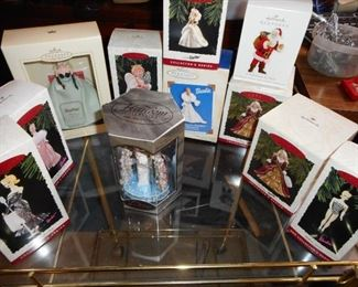 Hallmark Barbie Ornaments in Boxes