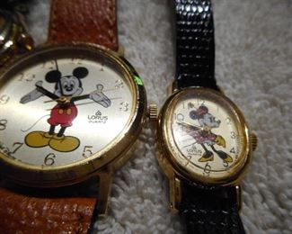 Lorus Mickey Mouse,, Rare Lorus Minnie Mouse Watch!