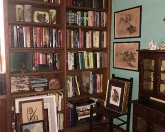 Antique and current books