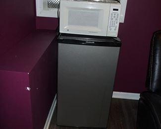 Frig & Microwave