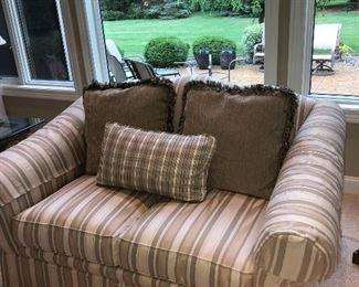 1 of a set of 2 Sherrill love seats