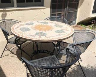 Mosaic Table from Jordan