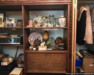 Furs, stereo, collectibles