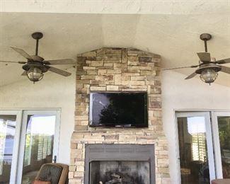 TV & ceiling fans