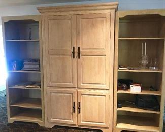 Tv cabinet/ shelving by Henredon