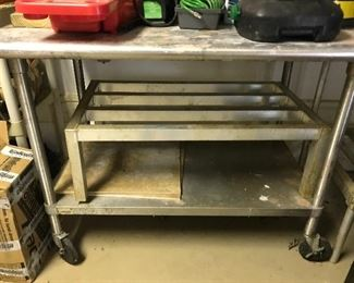 Work station  stainless table
