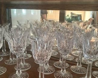 "Waterford ""Lismore"" crystal"
