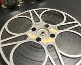 Large vintage movie reel