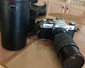 35mm Canon camera