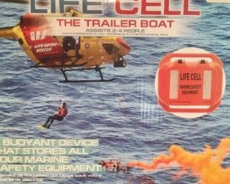LIFE CELL emergency flotation safety gear