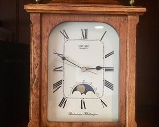 Seiko mantle clock