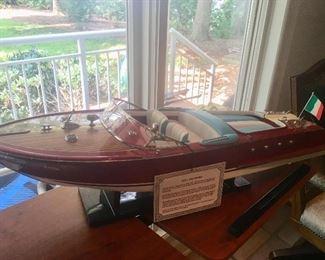 """Riva Aquarama"" boat"