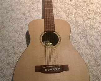 Youth sized acoustic Martin guitar