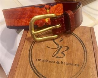 Smathers & Branson youth sized belt