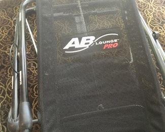 AB Lounge Pro fitness equipment