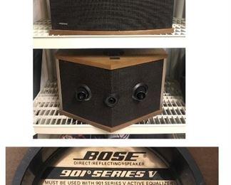 Vintage Bose 901° Series V speakers