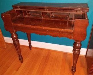 Antique piano desk...$40...