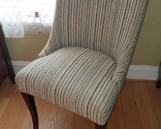 Pair of mid-century chairs...very, very nice! $45 ea