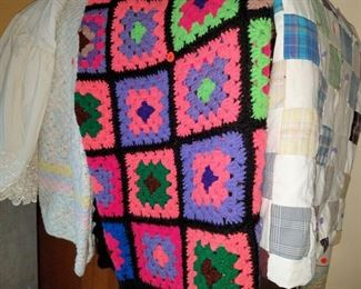 Hand-made blankets/quilt