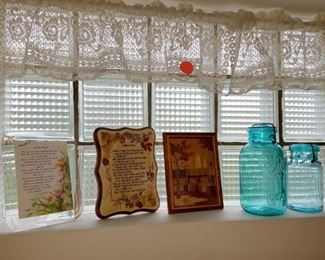 Curtains and decor