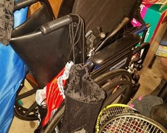 Really nice portable wheelchair.  $30