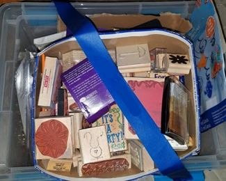 Case for of stamping stuff...Creative Memories and such