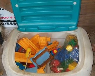 Toys $20 all including toy chest