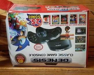 Genesis game console