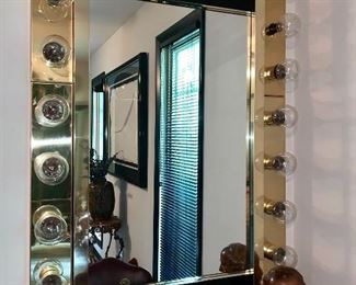 """Hollywood"" Lights/Mirror"
