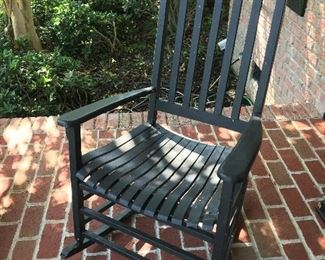 Black Wood Rocker $ 62.00